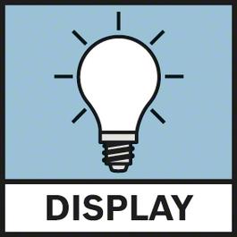 Display lighting Illuminated display