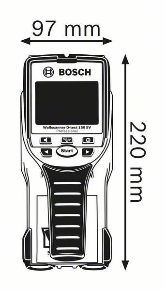 D-tect 150 SV wallscanner